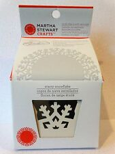 Martha Stewart STARRY SNOWFLAKE Punch Cicle Edge punch Christmas