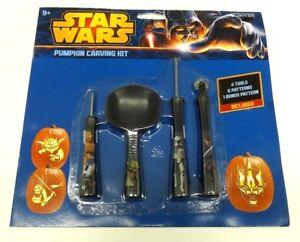 Schnitzset Kurbis 4 Tlg 7 Gruseligen Vorlagen Star Wars Halloween