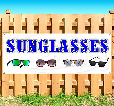 SUNGLASSES Advertising Vinyl Banner Flag Sign Many Sizes Available USA