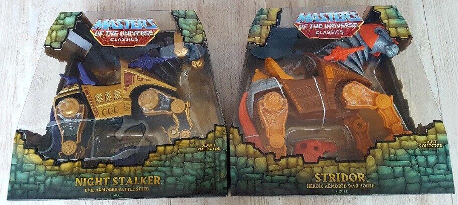Night Stalker Mattel Stridor Super 7 Motu Masters Universum Classics He Man Ny