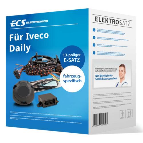 Elektrosatz 13-pol spezifisch für Iveco Daily Kasten//Bus 07.2014-jetzt NEU TOP