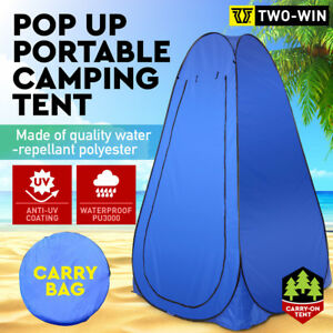 Portable Pop Up Tent Camping Beach Toilet Shower Changing Room Outdoor Dressing