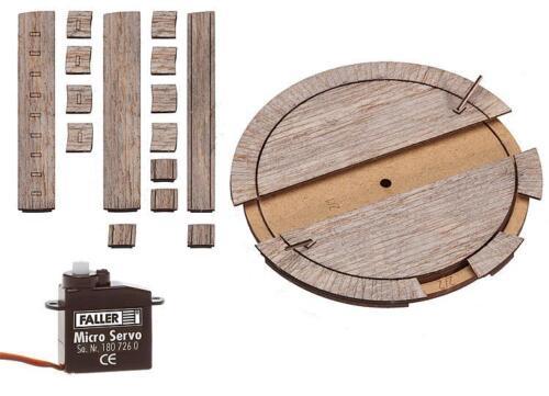 Faller-h0-120276 petits saillies plaque tournante avec servoantrieb-pour RhB