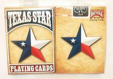 1 Deck WANTED POSTER JOKER EDITION Texas Lone Star Flag Bicycle Playing Cards