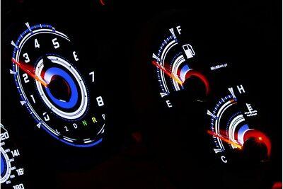 Ehrlichkeit Toyota Supra Mk4 Design 1 Glow Gauge Plasma Dials Tachoscheibe Glow Shift Indica