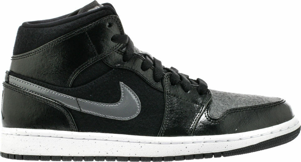 AUTHENTIC NIKE AIR JORDAN 1 MID PREM 852542-001 AIR JORDAN HIGH LOW RETRO MID The latest discount shoes for men and women