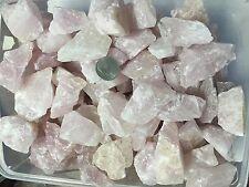1lb Bulk Pink Rose Quartz Rough Natural Stones Wholesale