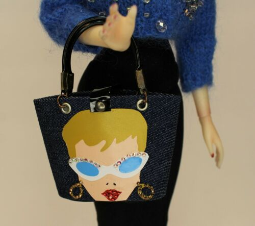 Enid Collins STYLE Purse Babs Ponytail Motif Popovy Barbie Numina by RETROS