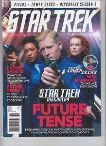 DISCOVERY FUTURE STAR TREK MAGAZINE OFFICIAL MAGAZINE SEPT 2020 ISSUE #76 TITAN