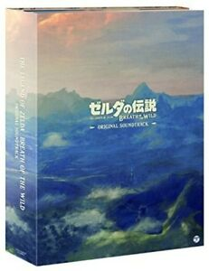 Game-Music-Legend-Of-Zelda-Breath-Of-The-Wild-Original-Soundtrack-New-CD-J