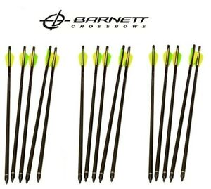 """15 Pack Set Of Barnett Crossbows 20/"""" Arrows Bolts Headhunter With Field Point"""