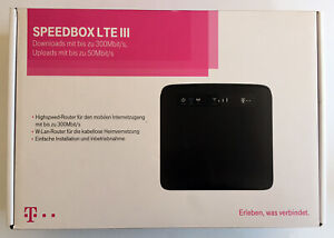 Telekom-Speedbox-LTE-III-LTE-Router-Huawei-E5186-WLAN-LTE300-Geschwindigkeit