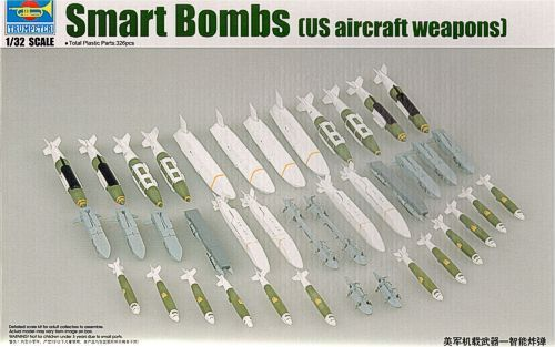Trumpeter 1 32 US Aircraft Weapons - Smart Bombs