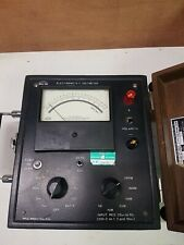 Vintage Mc Miller Co Dc Electronic Voltmeter Model 372 M1 In Case
