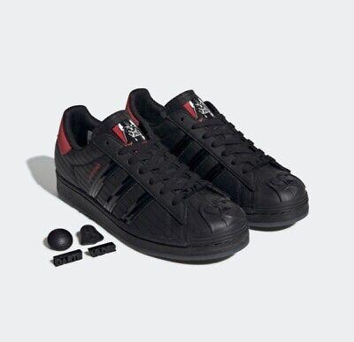 New Adidas Superstar x Star Wars 'Darth Vader' (FX9302) - Black, Shoes Sneakers | eBay
