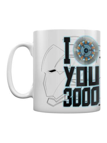 The Avengers Tasse Endgame I Love You 3000 blanc