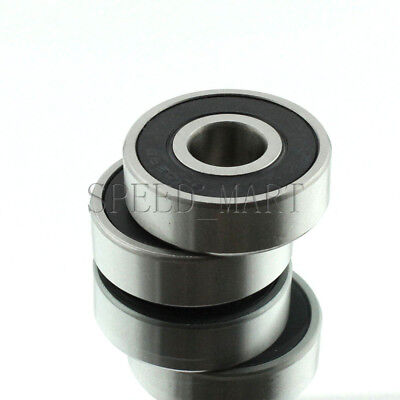 1PCS 6302-2RS 6302RS Deep Groove Rubber Shielded Ball Bearing 15mm*42mm*13mm