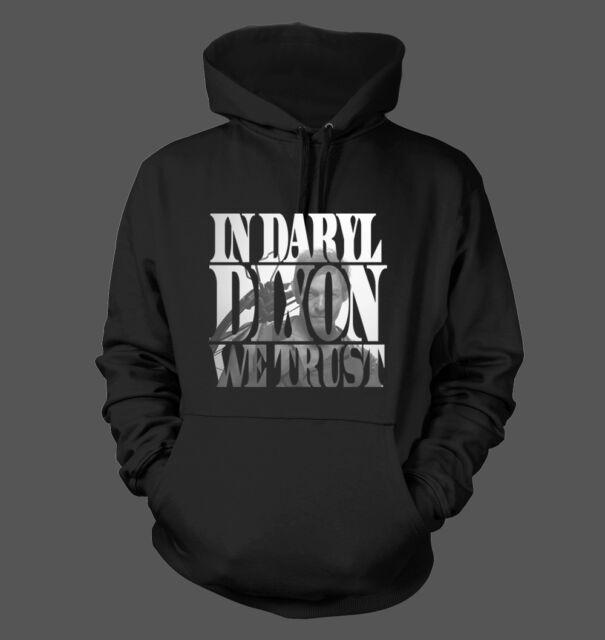 In Daryl Dixon We Trust - Men's Hoodie Sweatshirt - The Walking Dead TWD #205