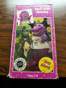 Barney Backyard Gang Rock With Barney (VHS, 1991) Vintage ...