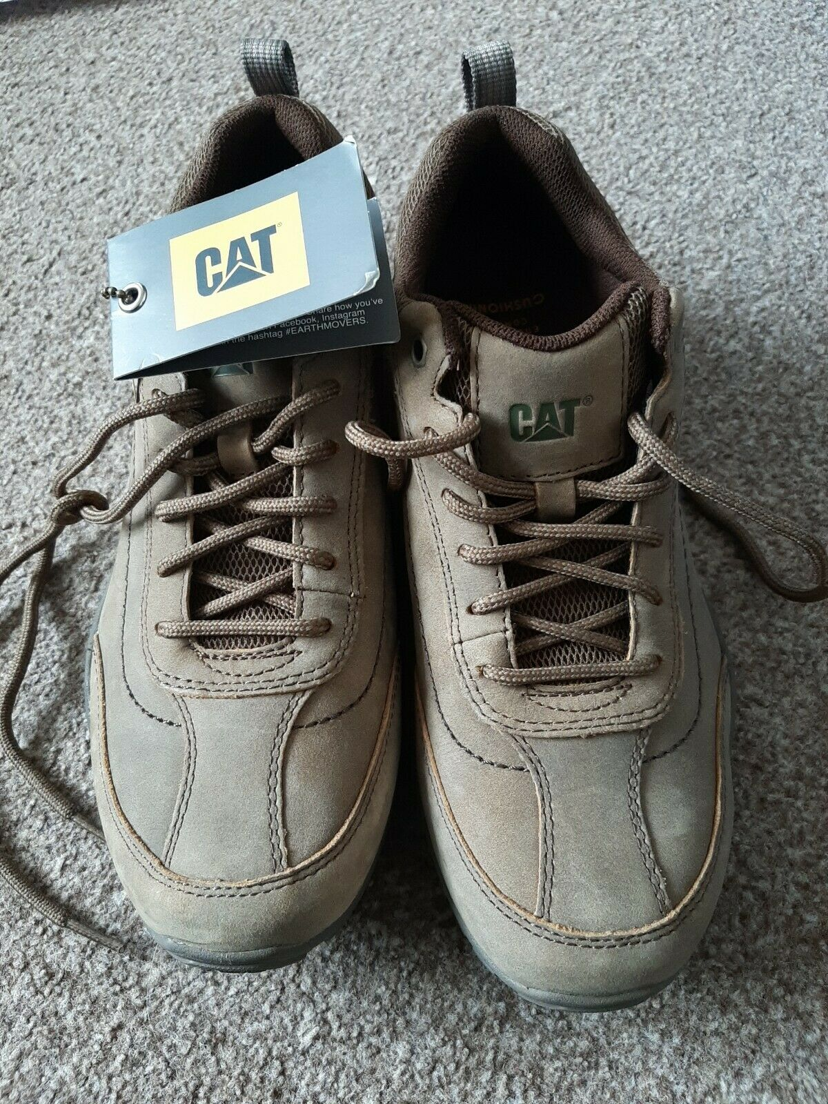 Mens Caterpillar Walking Shoes Boots Size 7 ease technology new