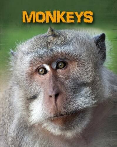 Monkeys Living in the Wild,PB,Claire Throp - NEW