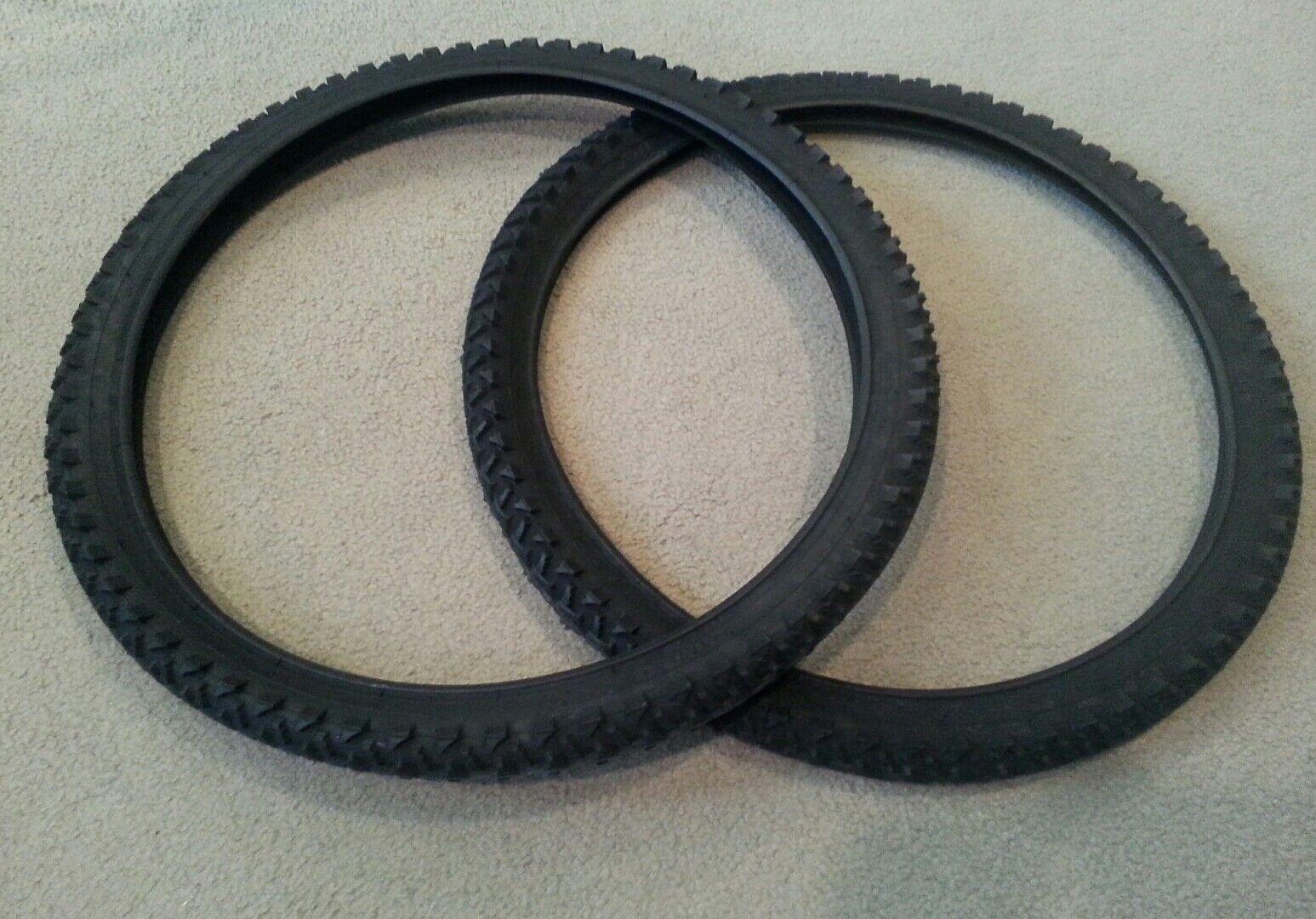 TWO(2) DURO 24X1.95(54-507)  BICYCLE TIRES  DIAMOND GRIP TREAD M.B  order now