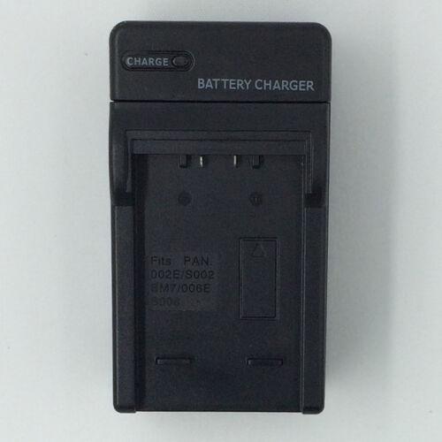 Cargador de batería ajuste PANASONIC DMC-FZ7 DMC-FZ7-K DMC-FZ7-S DMC-FZ8EB-K DMC-FZ8EBS