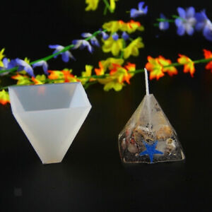 Details about 3 Size Pyramid Silicone Mold Jewelry Making Mould Epoxy Resin  DIY Craft Tool