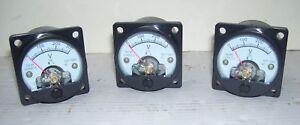 Kit-3-pezzi-voltmetro-analogico-da-pannello-0-300-volt-AC