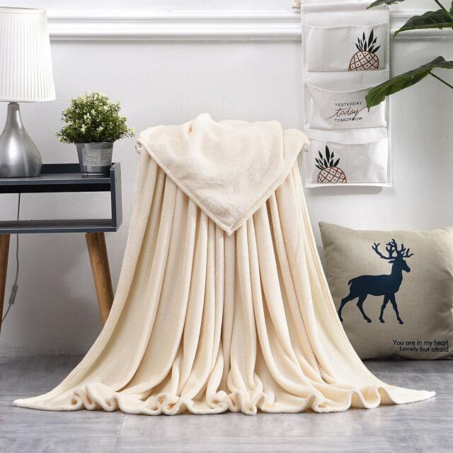 Kuscheldecke Wohndecke  Wendedecke Wolldecke Plaid grau-weiß Pärchendecke Decke