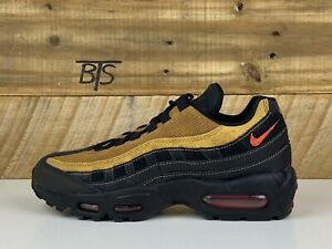 Details about Men's Nike Air Max 95 Essential Size-7 Black Clay Wheat Brown (AT9865 014)