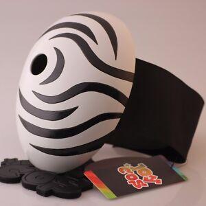 Wide Belt Naruto Tobi Uchiha Obito Mask Fiberglass Madara Madara Akatsuki Masks Ebay