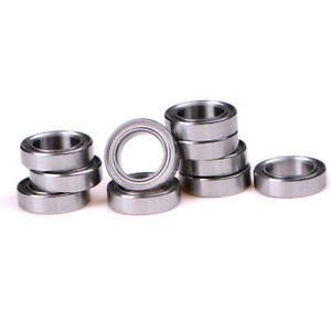 4X chrome steel ball  MR117ZZ 7*11*3 7x11x3mm metal shield MR117Z ball bearing~