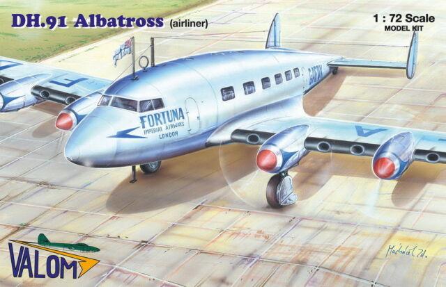 Valom 1//72 De Havilland DH.91 Albatross Imperial Airways plastic kit