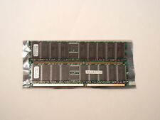LOT OF 2 SAMSUNG K4H560838E-TCB3 512MB / 1GB Memory Sticks D333 DDR RAM MA148753