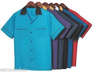 Hilton Gm Legend Retro Bowling Shirt Mens Womens Size S Xxl 3xl King Pin Shirts Ebay
