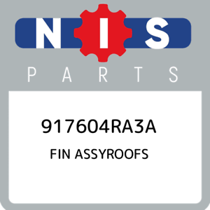 917604RA3A-Nissan-Fin-assyroofs-917604RA3A-New-Genuine-OEM-Part