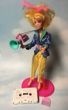 Jem and the Holograms VIDEO doll, clothes, shoes, camera, stand vintage Hasbro