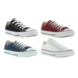 converse allstar oxford mens womens classic canvas shoes