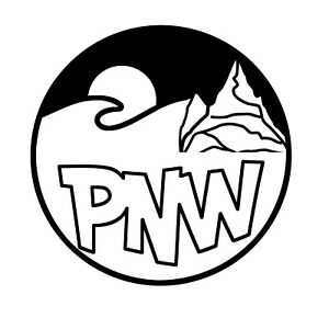 PNW-Symbol-Wave-Camping-Mountain-Graphic-for-Truck-Automotive-Car-Decal-Sticker