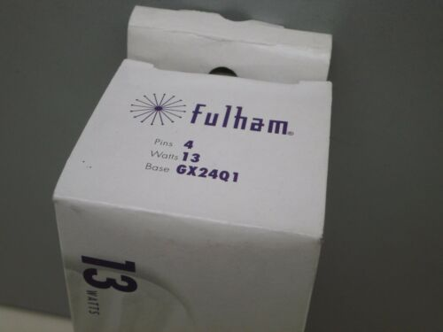 4pack Fulham 13-Watt  Fluorescent Lamp Light Bulb 4-Pin 3000K = CF13DT F13TBX