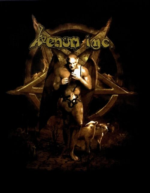 VENOM INC cd cvr WINGED DEMON PENTAGRAM AVE Avé Official SHIRT XL new