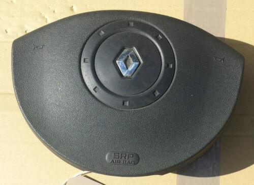 RENAULT MEGANE 2004 DRIVERS STEERING WHEEL TWIN PLUG AIR BAG 8200381849