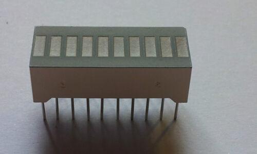LED Balkenanzeige 10-fach --Farbe wählbar