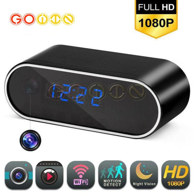 Mini Spy Camera Alarm Clock DVR Recorder Hidden Nanny Cam DVR Motion Detection