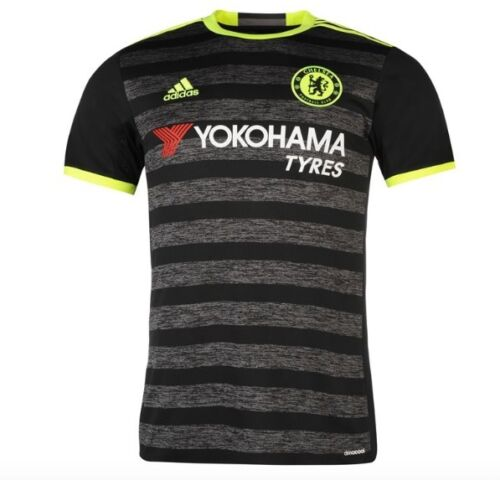 Adidas FC Chelsea London Away Away Kit Grey Yellow 2017 ALL SIZES NEW