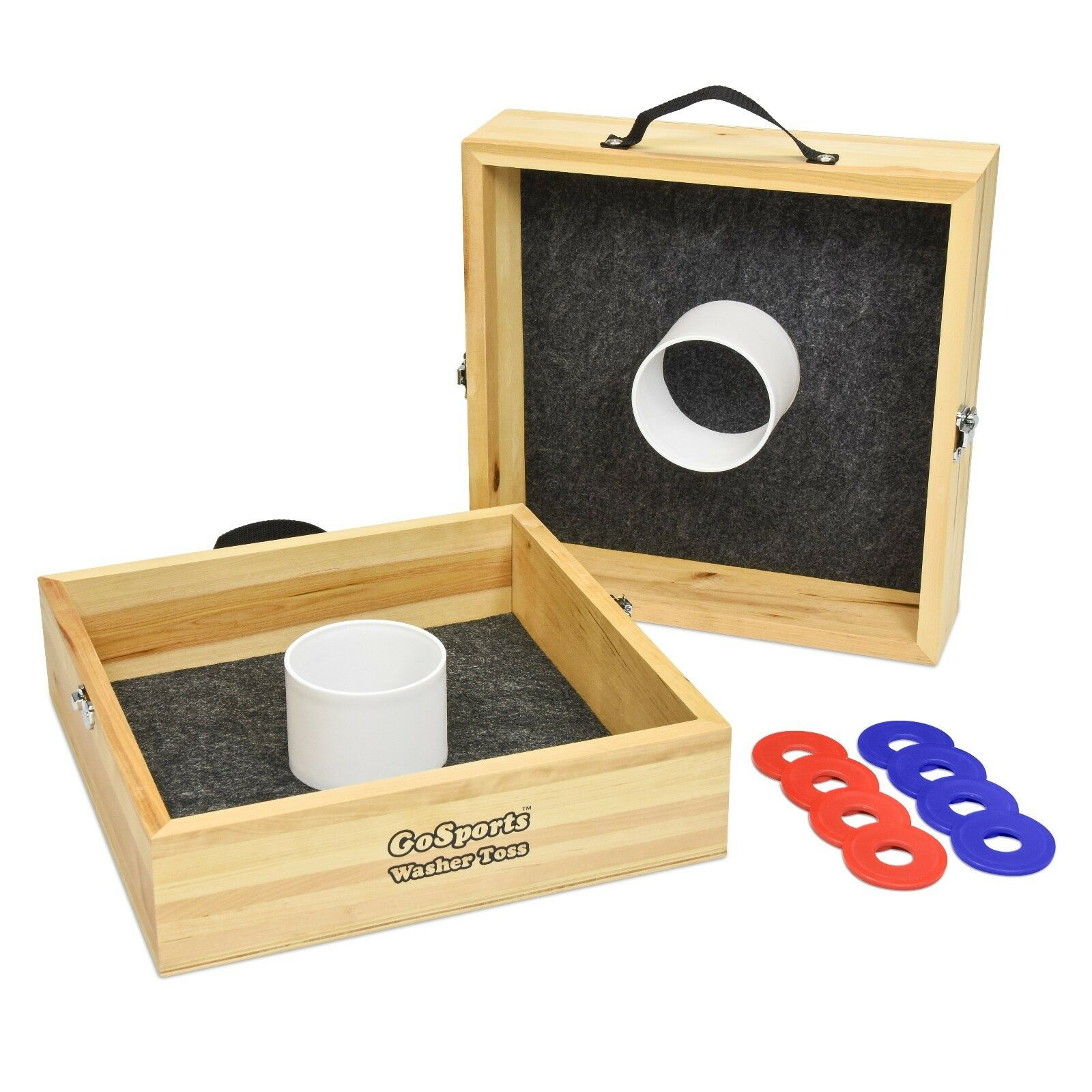 Hand Crafted Wood Washer Toss Game  Classic Tailgating  Game FREE SHIPPING  retail stores