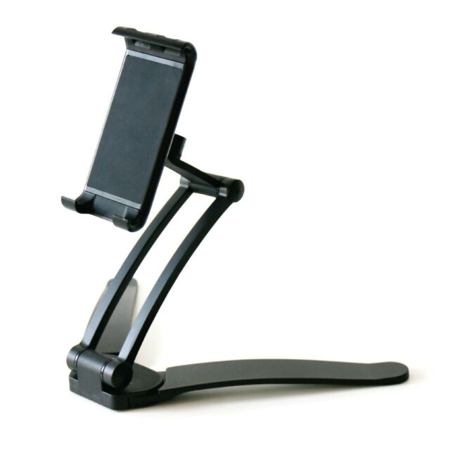 Tablet Stand Kitchen Desk Table Viewing Holder and Wall Mount 2 in 1 for Ipads