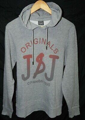 * Jack & Jones * Kapuzen Sweatshirt Gr. S * Grau * Sehr Gepflegter Zustand *
