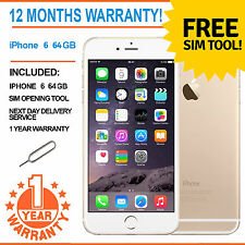 Apple iPhone 6 64GB Factory Unlocked - Champagne Gold